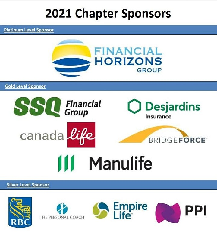 """Advocis Golden Triangle:  """"Leave A Legacy"""" - Sponsor PD Day image"""