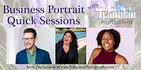 Business Portrait Quick Sessions tickets