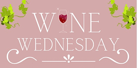 Wine Wednesday Paint & Sip tickets