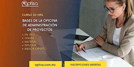 Las Bases de la Oficina de Admón de Proyectos entradas