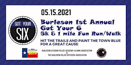 Got Your Six  5k and 1 mile Fun Run/Walk tickets