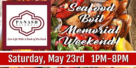 Memorial  Day Weekend Seafood Boil! tickets