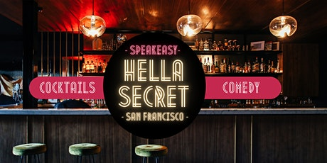 HellaSecret Speakeasy Comedy & Spring Cocktail Night 2021 tickets