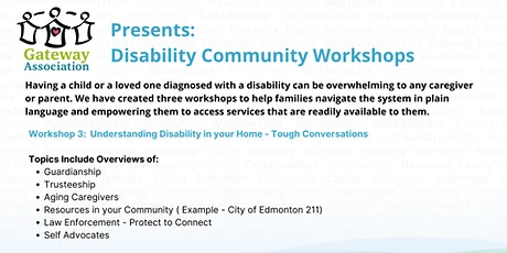 Workshop 3: Understanding Disability in Your Home tickets