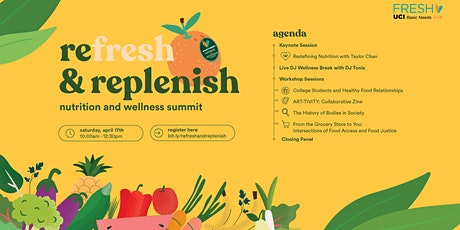 ReFRESH and Replenish: Nutrition and Wellness Summit tickets
