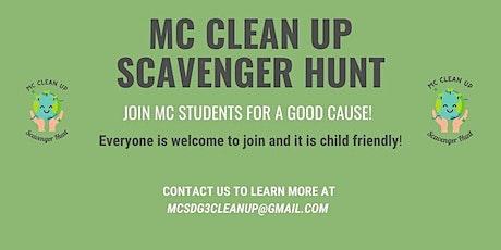 MC Clean-Up Scavenger Hunt Series tickets