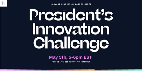 The 2021 President's Innovation Challenge Virtual Awards Ceremony billets