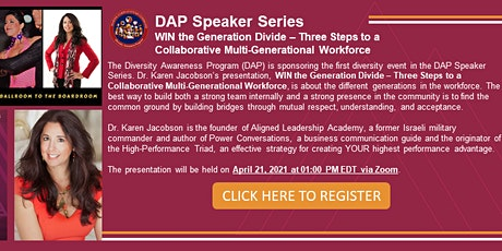 WIN the Generation Divide - 3 Steps to a collaborative a Multi-Generational tickets