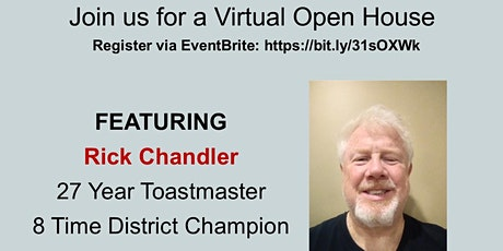Groover Labs Toastmasters Virtual Open House tickets