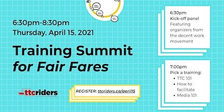 Training Summit for Fair Fares biglietti