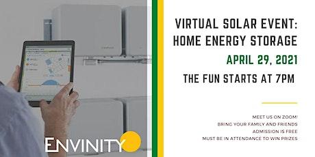 Envinity/Sierra Club - Virtual Solar Event - Home Energy Storage tickets