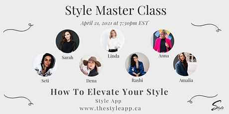 How To Elevate Your Style tickets