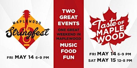 Taste of Maplewood & Maplewood Stringfest tickets