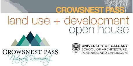 Crowsnest Pass/University of Calgary - Future development Open House tickets