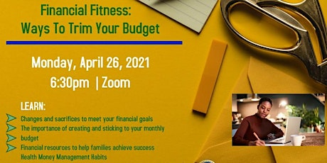 Financial Fitness: Ways to Trim Your Budget tickets