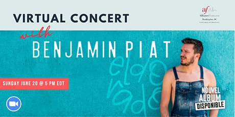 Virtual Concert with Benjamin Piat tickets
