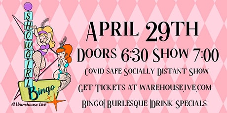 SHOWGIRL BINGO - with HOSTS KITTY CORVAIR & PIPER DAILY tickets