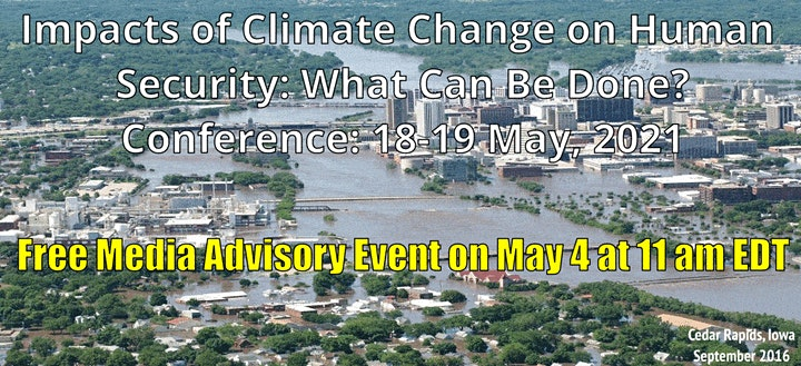 Media Advisory: Climate Trends,  Expected Impacts & What Can Be Done? image