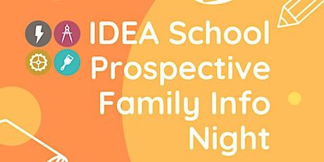Prospective Family Info Night ingressos
