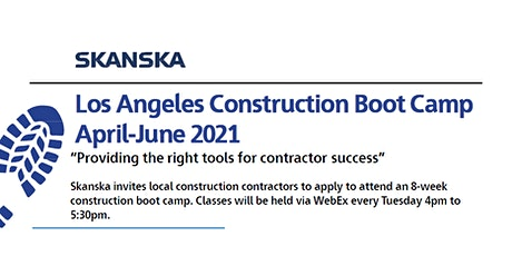 Los Angeles Construction Boot Camp tickets