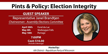 Pints & Policy: Election Integrity - Portage tickets
