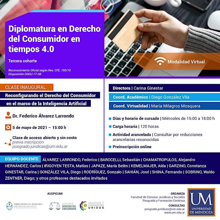 Imagen de Diplomatura en Derecho del Consumidor 2021