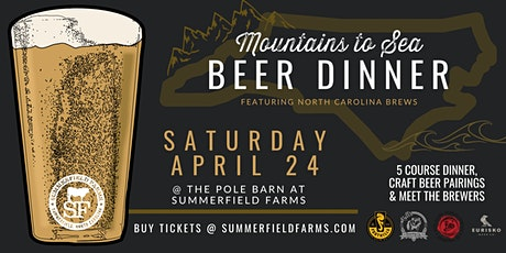 Mountains-to-Sea Beer Dinner tickets