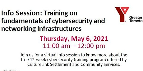 CYBERSECURITY TRAINING  _ INFO SESSION tickets