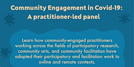 Community Engagement in Covid-19: A Practitioner-led Panel tickets