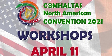 CCÉ North American Convention Workshops 2021 (Sunday) tickets