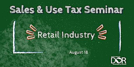 Sales & Use Tax Seminar: Retail Industry tickets
