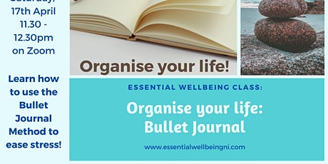 Bullet Journal - Orgnise your Life! tickets