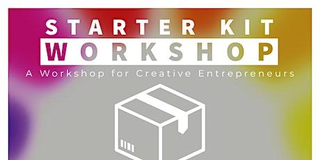 stARTer Kit: A Virtual Workshop For Creative Entrepreneurs tickets