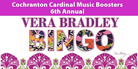 Vera Bradley Bingo tickets