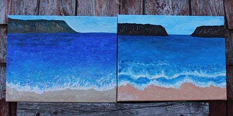 Paint Your Own Nova Scotia Beach Scene tickets