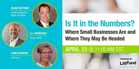 Is It in the Numbers? Where Small Businesses Are & Where They May Be Headed tickets
