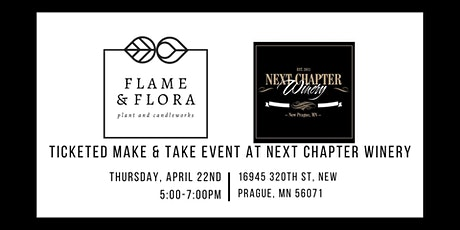 Ticketed Make & Take Event at Next Chapter Winery tickets