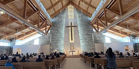 Weekend Mass (April 10 & 11) tickets