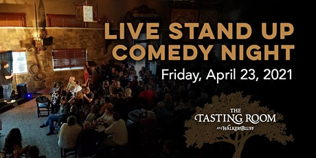 April LIVE Stand Up Comedy Night at Walker's Bluff tickets