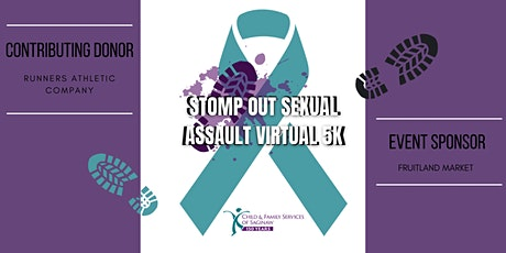 Stomp Out Sexual Assault Virtual 5K tickets