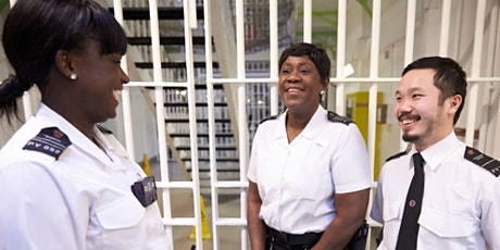 A career in HMPPS - Becoming a Prison Officer ingressos
