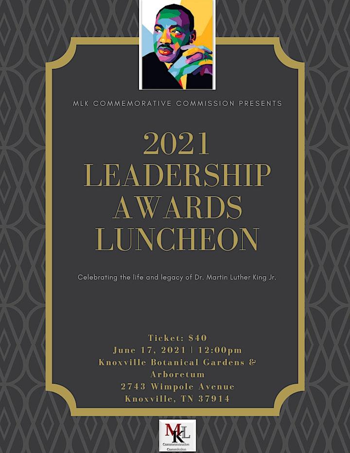 MLK Leadership Awards Luncheon image