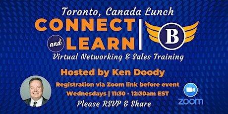 Toronto | Canada - Virtual Networking Lunch tickets