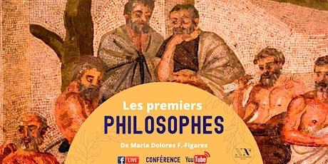Les premiers philosophes - Conférence LIVE billets