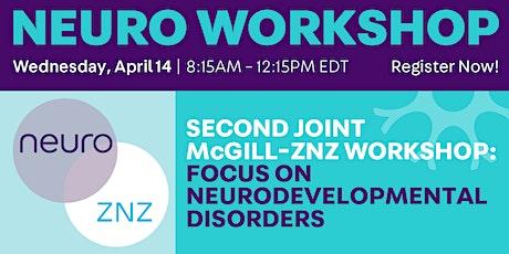 Second Joint McGill - ZNZ Workshop tickets