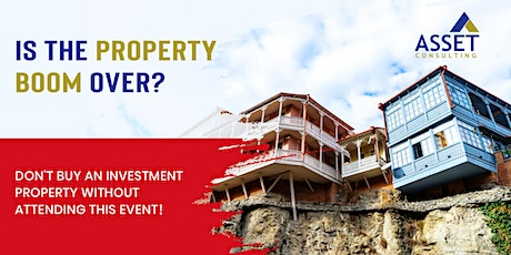 IS AUCKLAND'S  PROPERTY BOOM WELL AND TRULY OVER? tickets