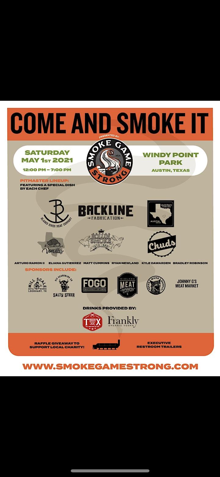 Come and Smoke it image