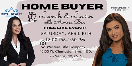Home Buyer Lunch and Learn tickets