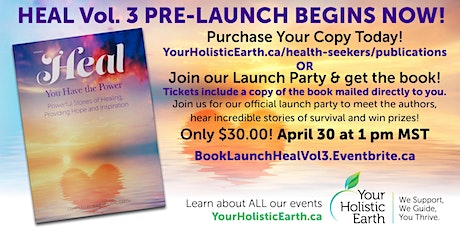 Heal  3.0 Book Launch! tickets