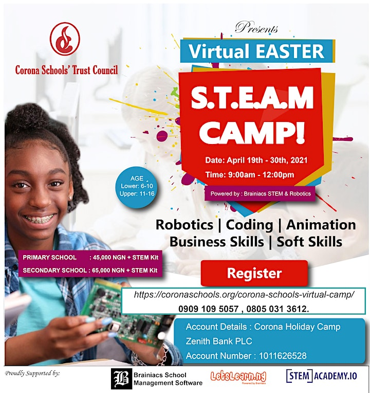 Easter S.T.E.A.M Camp image